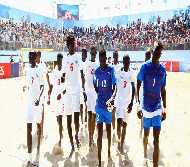 Can Beach soccer 2016: Le Sénégal bat Madagascar et se qualifie pour les demi-finales