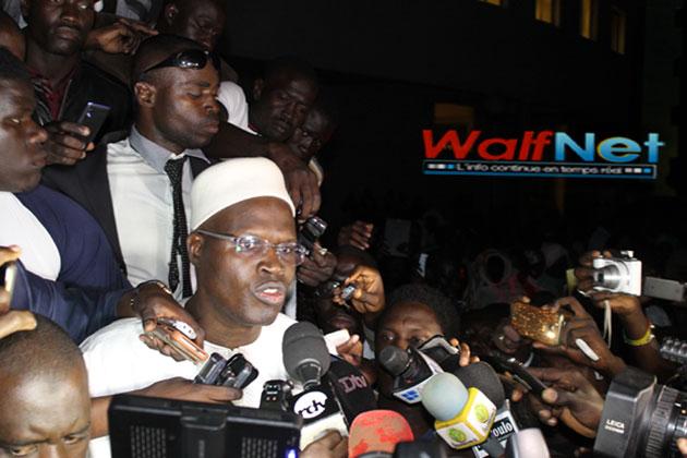 Sorti libre des locaux de la DIC, Khalifa SALL doit rester à la disposition de la justice