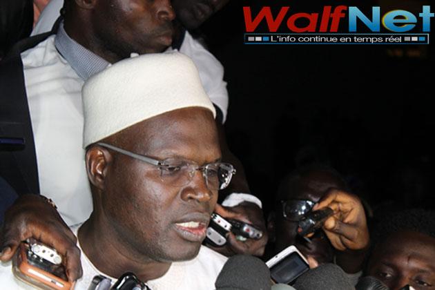 Khalifa SALL : «l'intimidation et le dénigrement ne passeront pas»