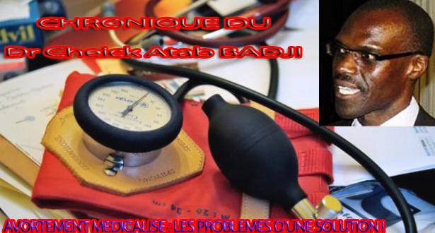 AVORTEMENT MEDICALISE: LES PROBLEMES D'UNE SOLUTION!