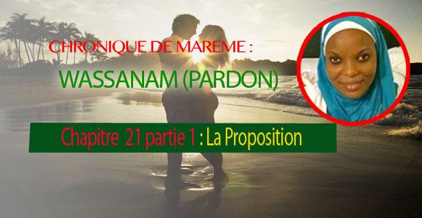 Chapitre 21- Partie 1 : La Proposition