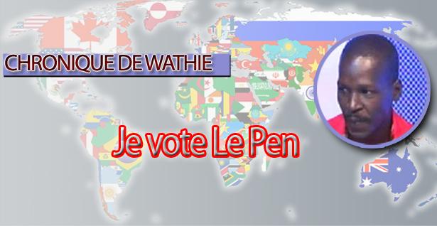 Je vote Le Pen