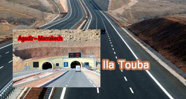 Autoroute Agadir – Marrakech, 233,5 km traversant une montagne, à 471 milliards F CFA ; Autoroute «Ila Touba», 133 km, à 418 milliards F CFA