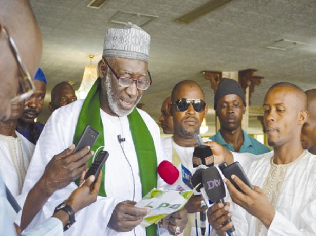 Imam Thierno Seydou Nourou TALL aux candidats à la députation: «Si vous trahissez le Peuple, vous répondrez de vos actes»