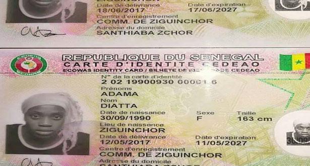 Multiplication des erreurs sur les cartes biométriques: une personne deux pièces d'identité?