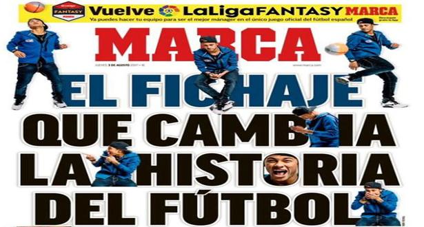Barça : la presse espagnole découpe Neymar… et le PSG