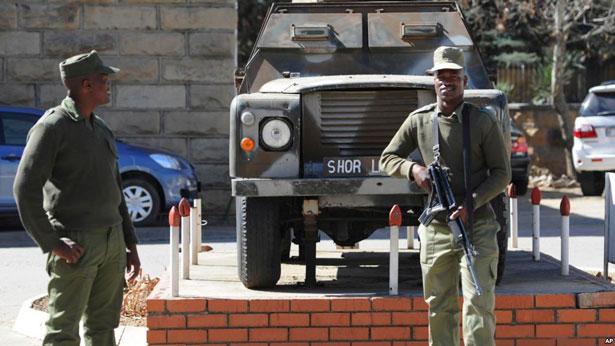 Le chef de l'armée du Lesotho tué par des soldats