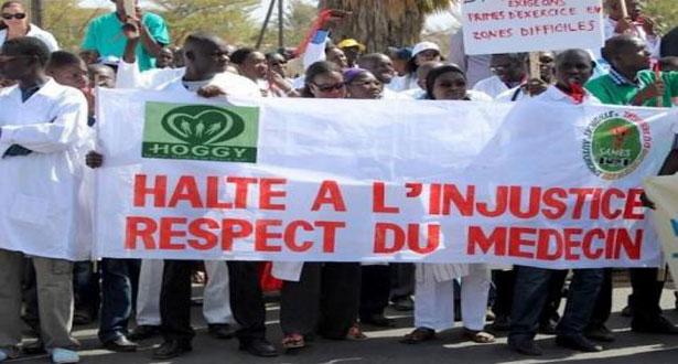 Saint-Louis: Les médecins sonnent la révolte
