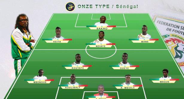 Cap-Vert – Sénégal : le Onze de départ d'Aliou CISSE