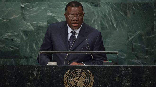 La Namibie n'a pas besoin du FMI, selon son président