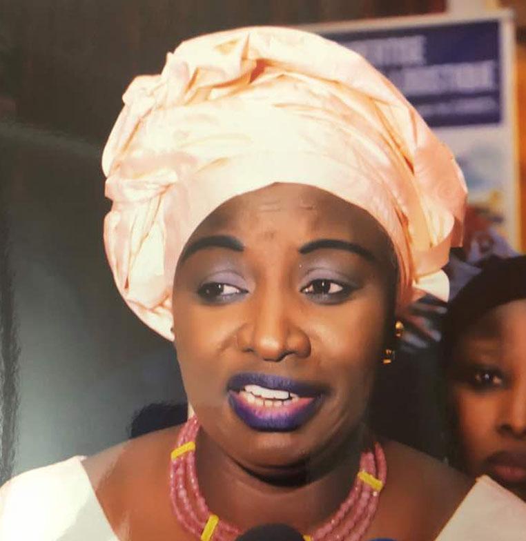 Mimi TOURE aux jeunes de la COJER : «Vous devez faire face à ces militants de l'opposition … »