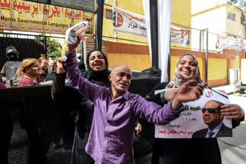 Présidentielle égyptienne :  les pro-Sissi jubilent déjà