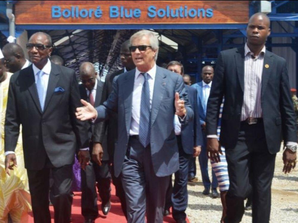 Accusé d'avoir financé la campagne électorale de dirigeants africains, Vincent Bolloré placé en garde à vue