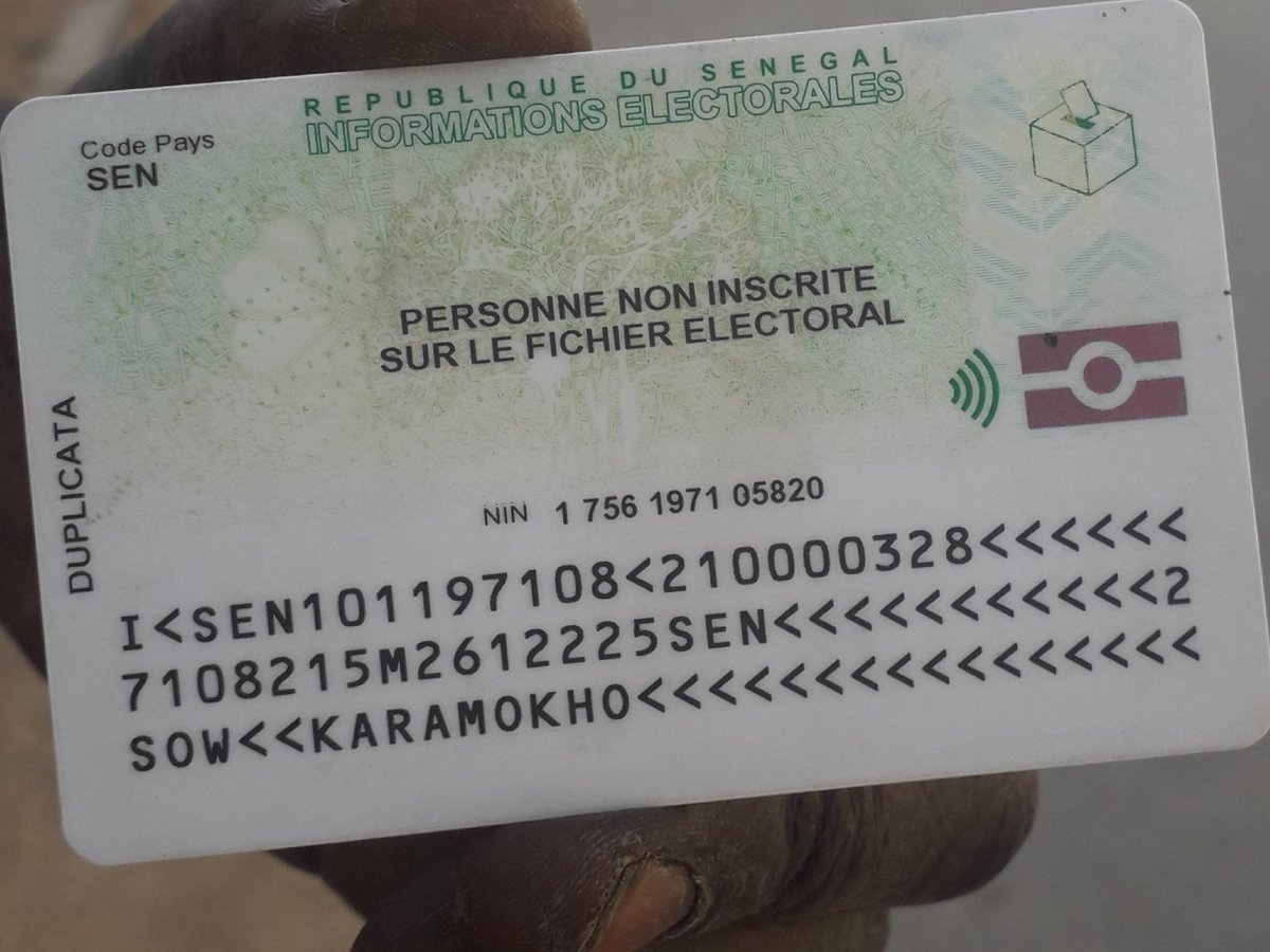 « Personne non inscrite sur le fichier électoral » : la mention qui intrigue