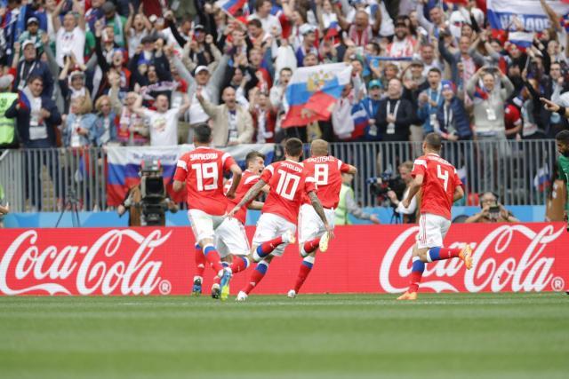 Coupe du monde 2018 : la Russie étrille l'Arabie saoudite  (5-0)