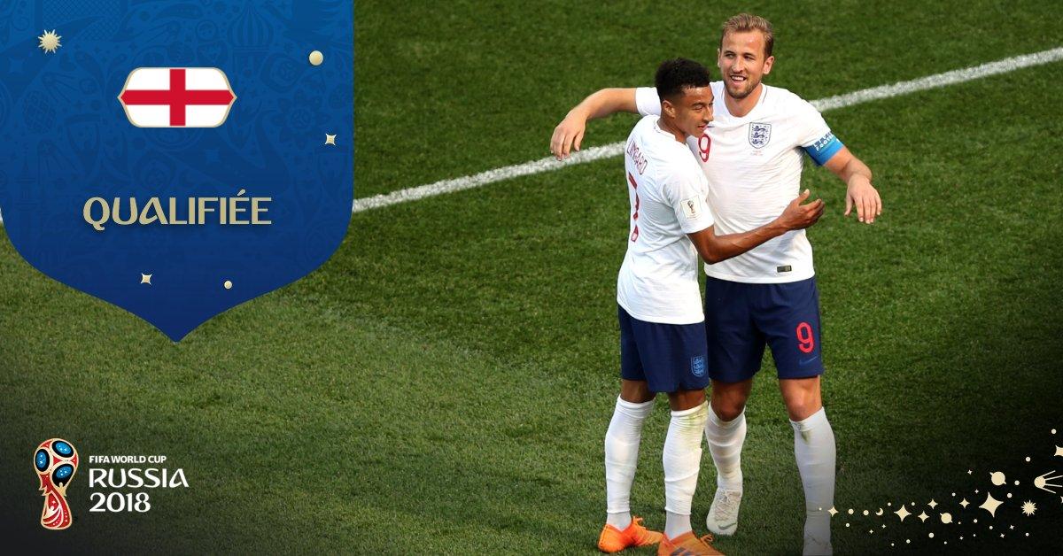 Coupe du monde: Les Anglais atomisent les Panaméens (6-1)