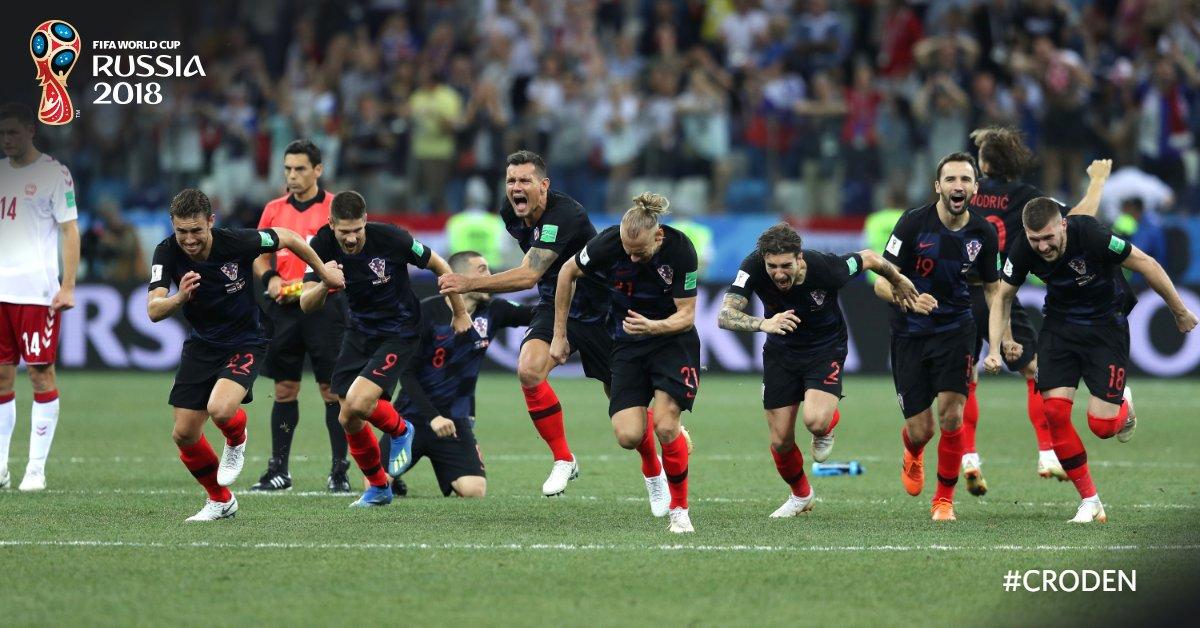 La Croatie bat la Russie aux TAB et rejoint l'Angleterre en demi