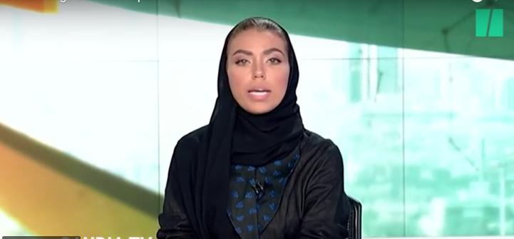 Pour la première fois, une femme présente le JT à la télévision saoudienne