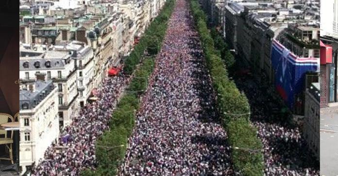 Gilets jaunes: près de 81.000 manifestants à 15h
