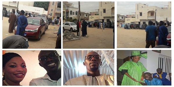 Enterrement de Khadim NDIAYE: le père de la pyromane dirige la prière mortuaire