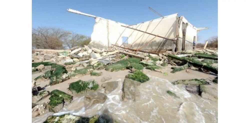 Saint-Louis : Une houle détruit près de 100 maisons, Guet-Ndar bloqué