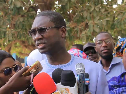 Ismaila Madior FALL: «nous sommes totalement sereins»