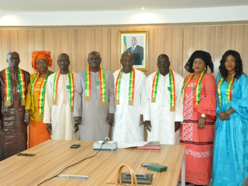 Pluie de décorations au Ministère du Pétrole: le Lion de l'Ordre National banalisé