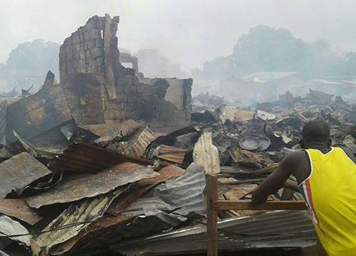 RECRUDESCENCE DES INCENDIES DE MARCHE : Après Ocass de Touba, le marché de Ross Bethio en flammes