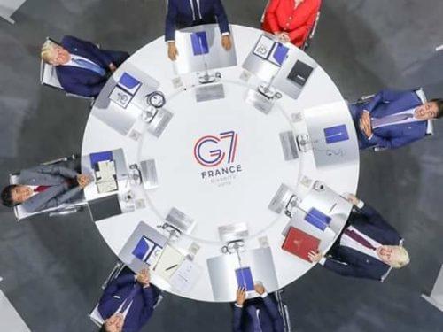 Sommet G7 : Visite surprise du ministre iranien des Affaires étrangères