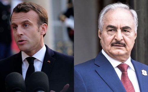 Libye : Emmanuel Macron reçoit le maréchal Khalifa Haftar en pleine guerre