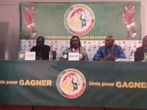 CAN 2019 :  Aliou CISSE dévoile une liste de 25 Lions, Kara zappé, SAIVET de retour