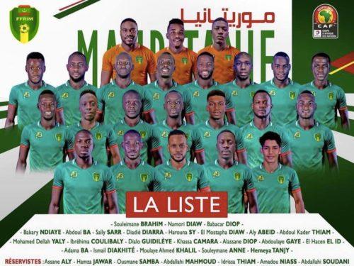 CAN 2019 : la liste des 23 Mourabitounes, Mauritanie ou Sénégal Bis