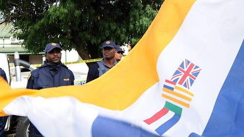 Afrique du Sud : le drapeau de l'apartheid désormais interdit
