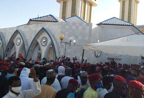 Médina Baye : le défunt khalife inhumé dans une grande ferveur religieuse
